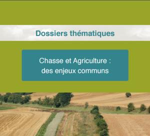 Dossier FNC 300x272 SIA2016 Des liens étroits entre Chasse et Agriculture