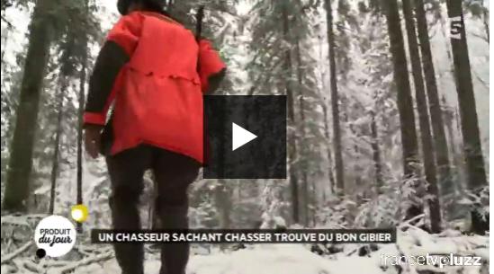 Reportage France 5 Un reportage de France 5 présente la marque Gibier de Chasse Chasseurs de France