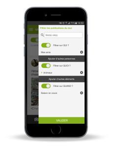 filtres 230x300 Les cartes IGN sur votre téléphone? (Re)découvrez l' application chasse , Naturapass !