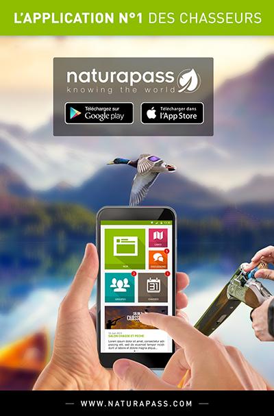 flyer Naturapass 1 Naturapass, lapplication connue des hommes politiques ?