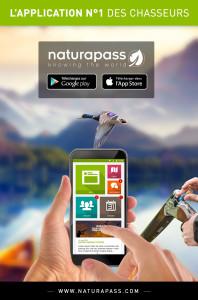 flyer Naturapass 198x300 Le début de Naturapass, loutil du chasseur moderne