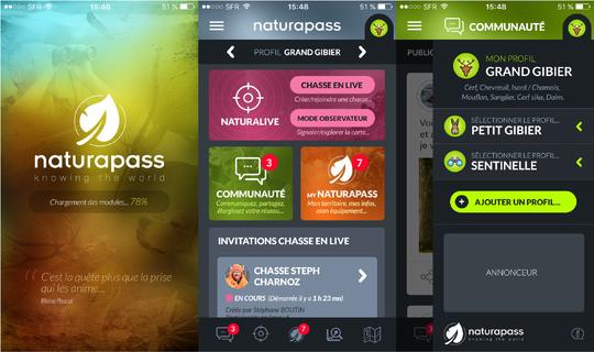 visuel appli naturapass Naturapass lance la première opération de financement participatif dans la chasse